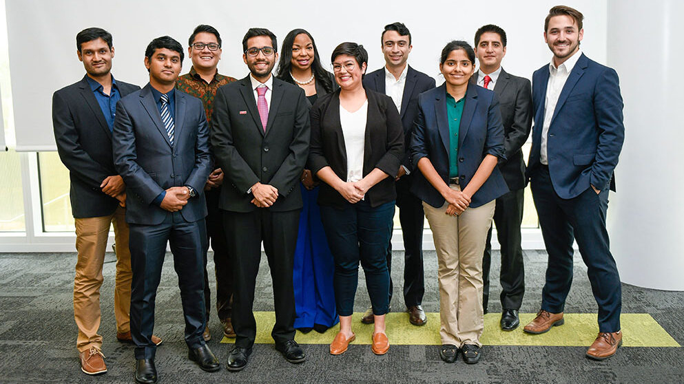 10 finalists for 3MT
