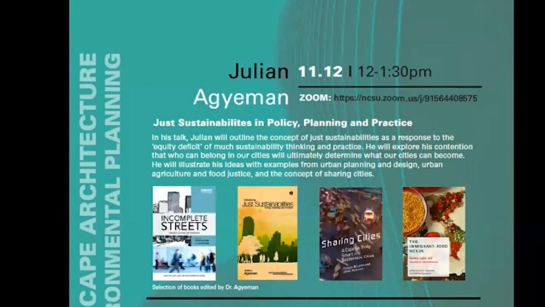 Julian Agyeman screenshot