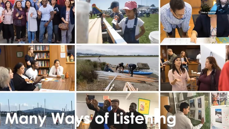 many ways of listening slide