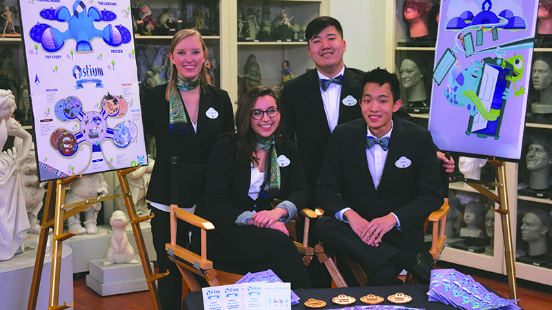 College of Design Students Honored at Disney Imagineering