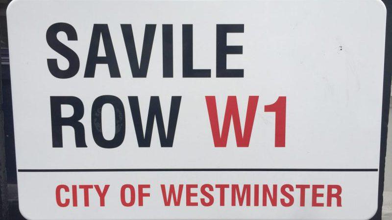 Walking Tour of Savile Row