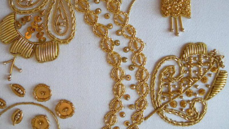 Discovering Goldwork – Week One