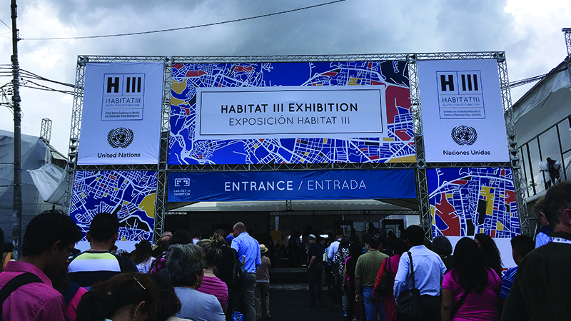 Sustainability in Our Urban Habitats: The Habitat III Conference