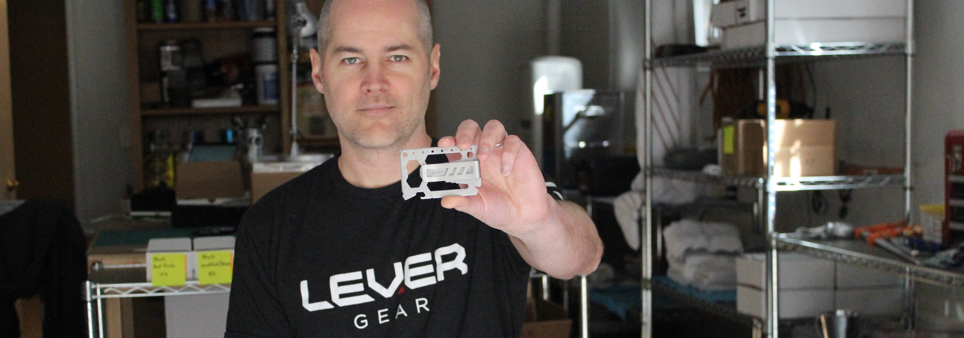 Lever Gear founder