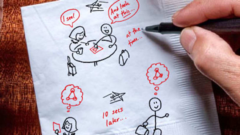 The Napkin Sketch Auction will Support an Amazing Cause