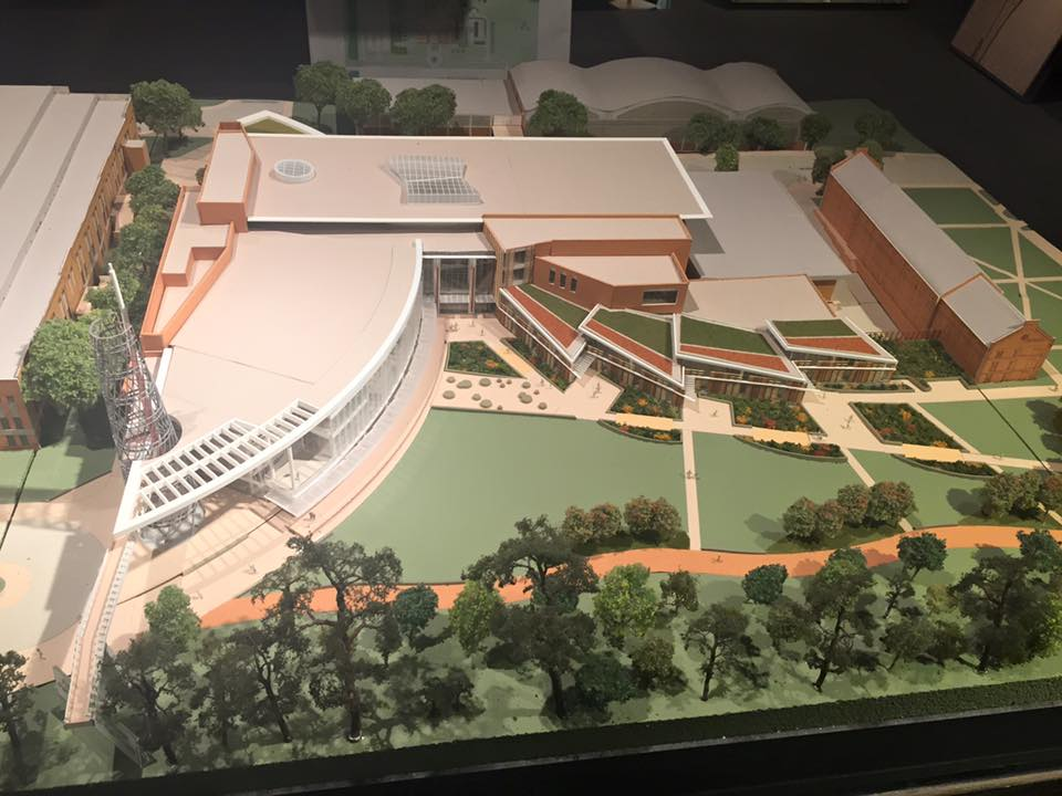 Model of Talley Student Center