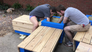 building the boxes