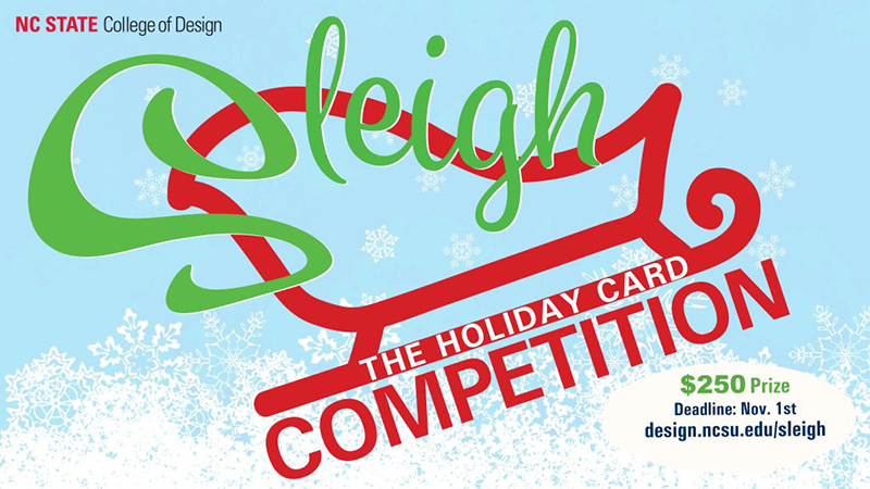 Sleigh the Holiday Card Competition