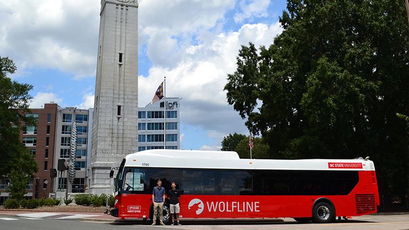 Wolfline bus