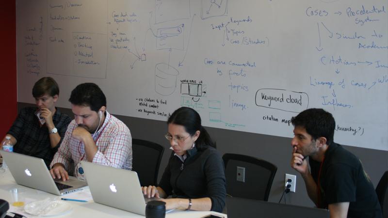 Design Team Participates in LexisNexis Hackathon