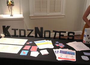 KidzNotes table