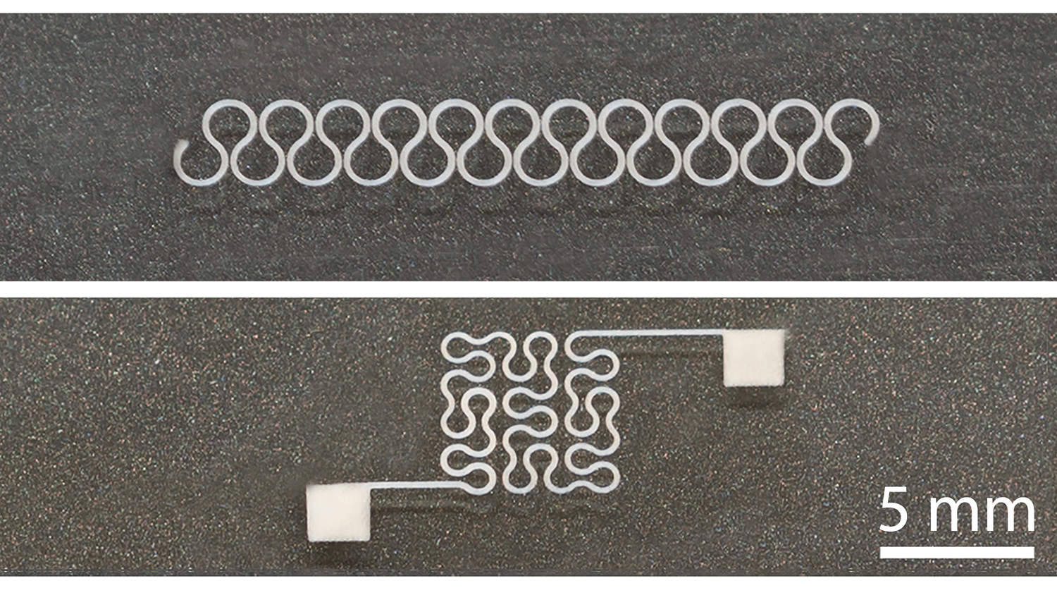 New Technique Allows Printing of Flexible, Stretchable Silver Nanowire Circuits