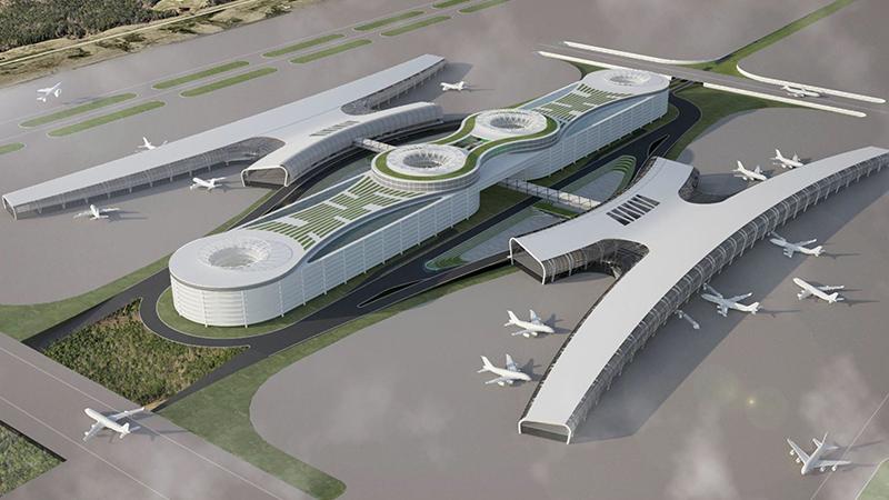 NC State College of Design, Airport Design studio student work: FoadFaizi+SaraNoorani