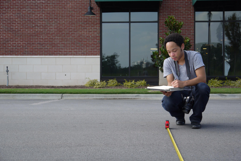 Corey Dodd Measuring