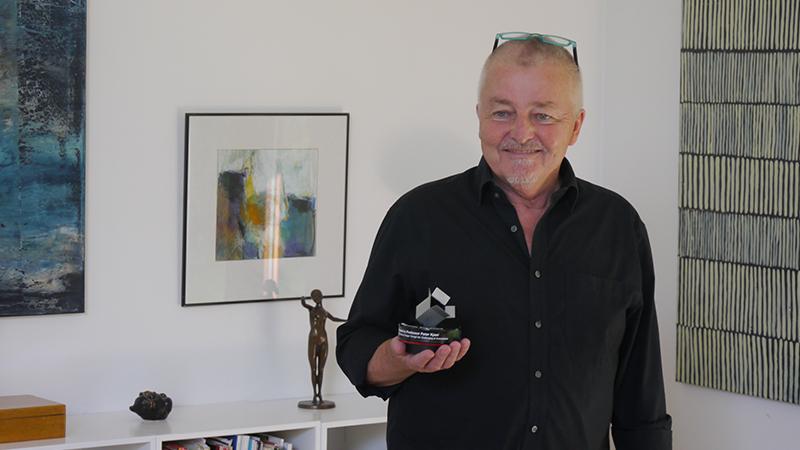 Perter with Award