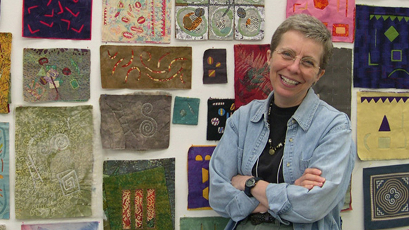 Distinguished Professor Emeritus of Art + Design Susan Brandeis