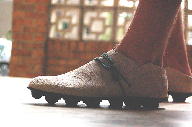 Chris Williams footwear design