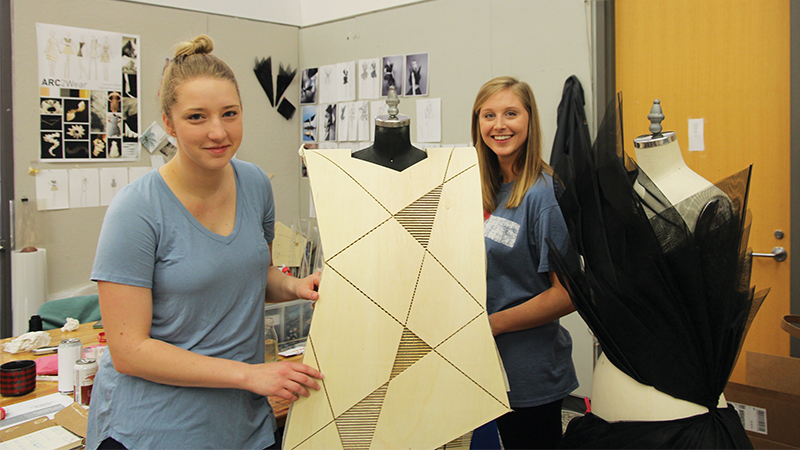 Breaking the Mold: Architecture Students Bring Building Materials to the Runway