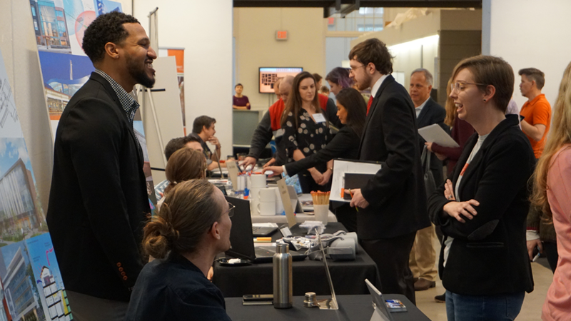 Successful Career Expo Brings Job Opportunities to Design Students