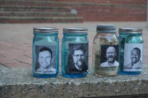AIAS Pie A Professor Donation Jars