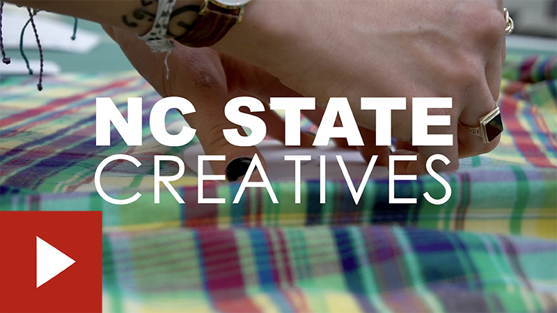 NC State Creatives: Genevieve Gholizadeh