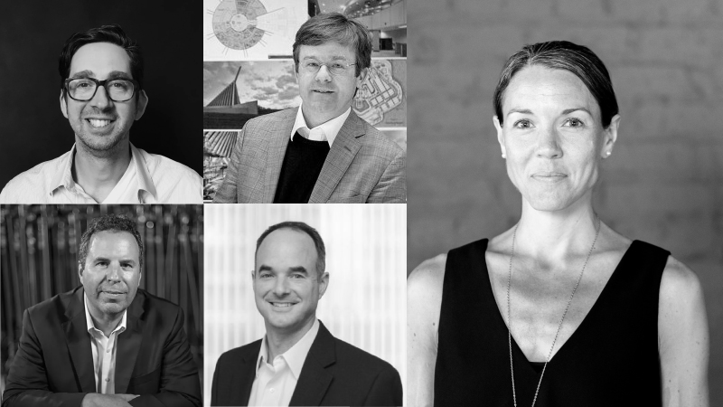 Five Architects Inducted as Fellows