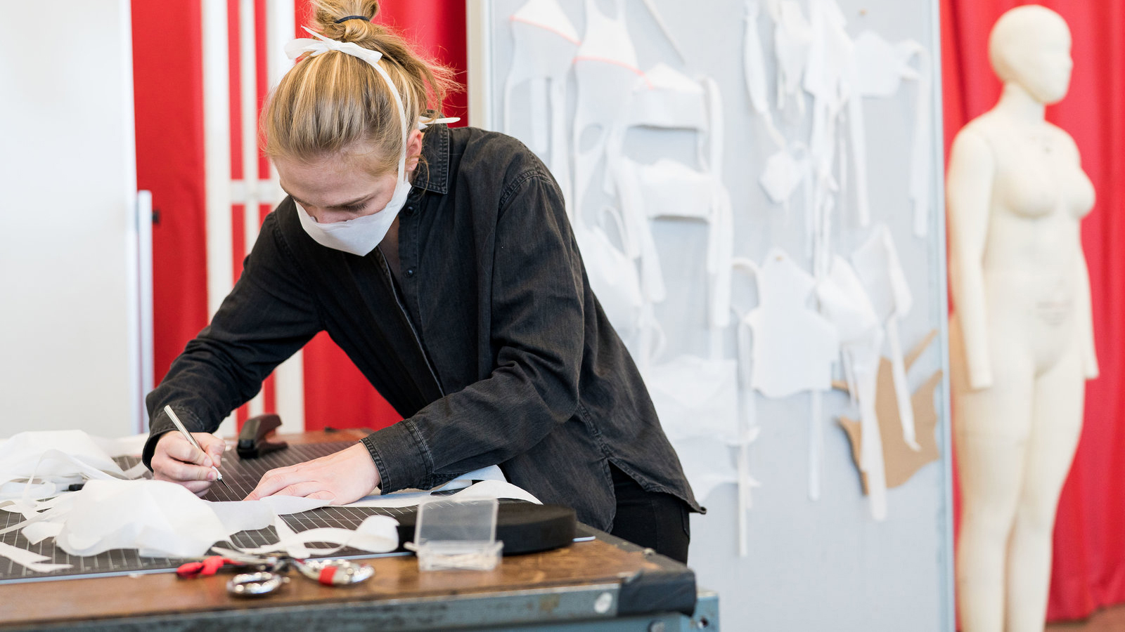 Alumna Maggie Snoke Designs Masks for Under Armour