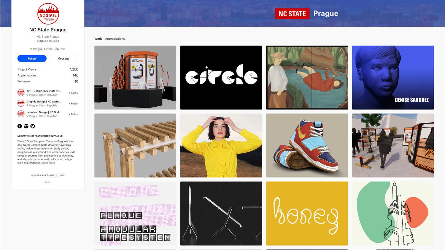Final Design Projects from Prague on Virtual Display
