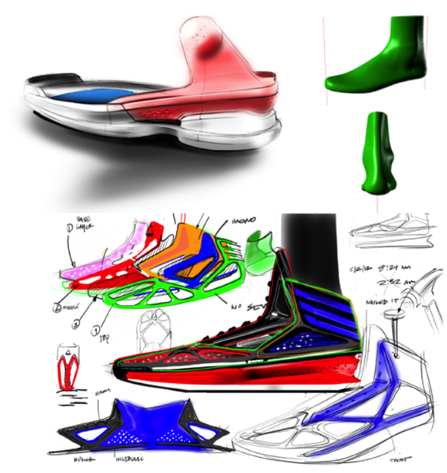 adizero Crazylight 3 sketch