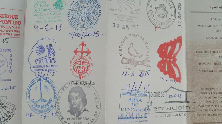 stamped pass port