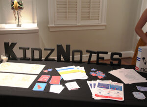 KidzNotes table