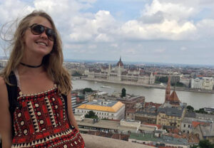 Katie Gray during Summer Abroad in Budapest