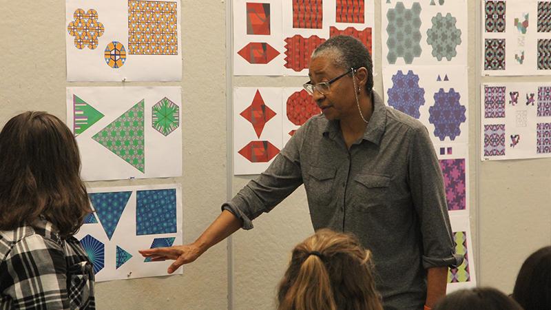 Professor of Art + Design Chandra Cox