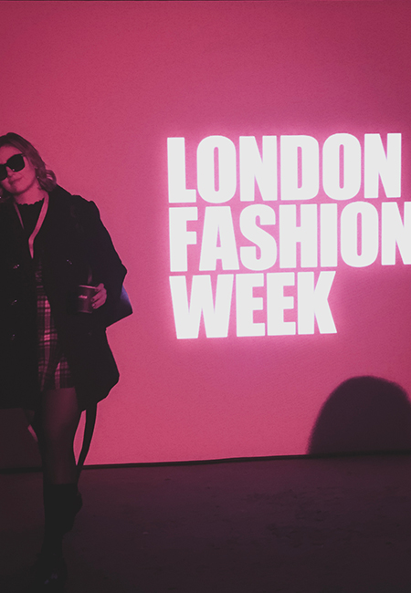 London fashion week photo
