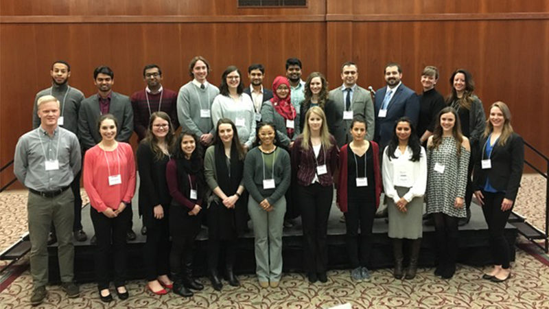 Winners of Graduate Research Student Poster Symposium 2018 NC State
