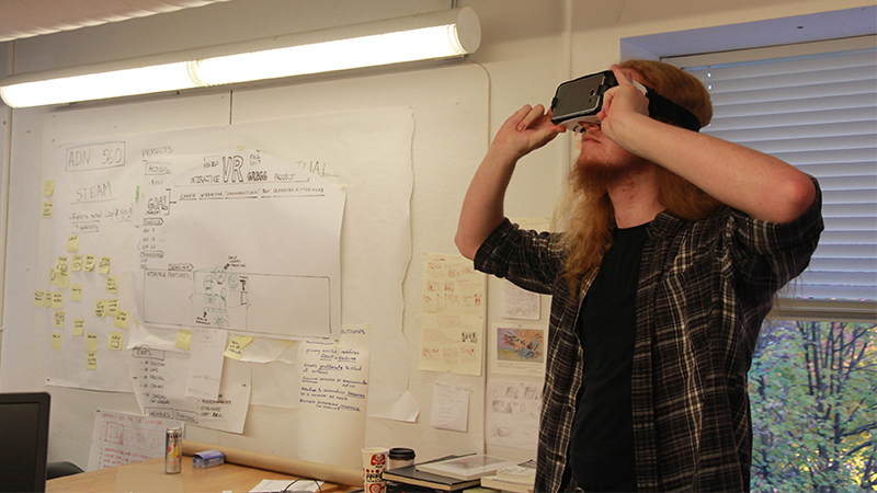 VR and emerging technologies at NCSU College Design