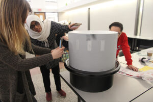 zoetrope in action at NCState Collegle of Design