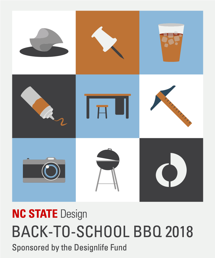Sticker for the 2018 Back-to-School BBQ