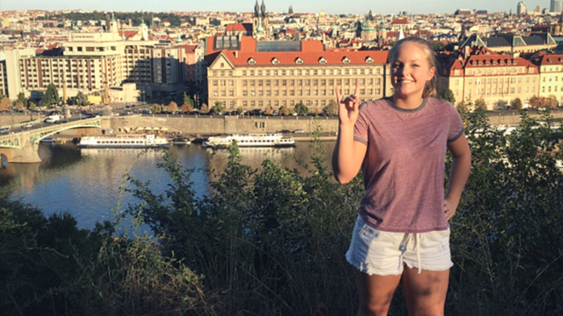Shea Edwards in Prague