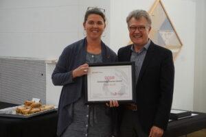 Tania Allen Award Winner