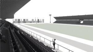 precast football stands