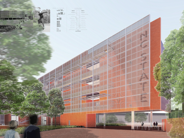 NC State Integrative Sciences Building