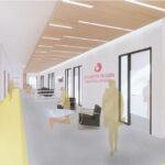 Lampe Hall corridor proposed