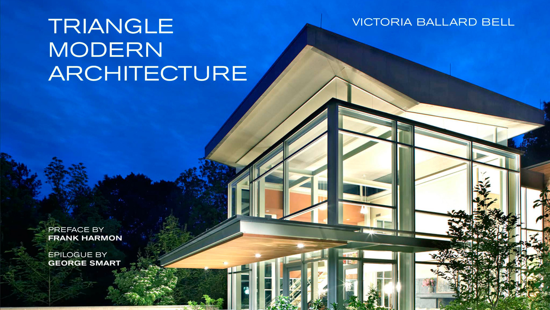 Triangle Modern Architecture by Victoria Ballard Bell