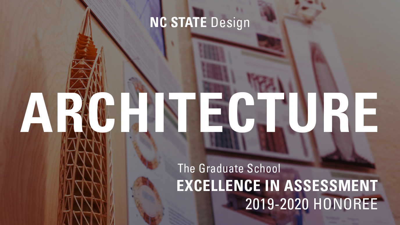 excellence in assessment award for architecture