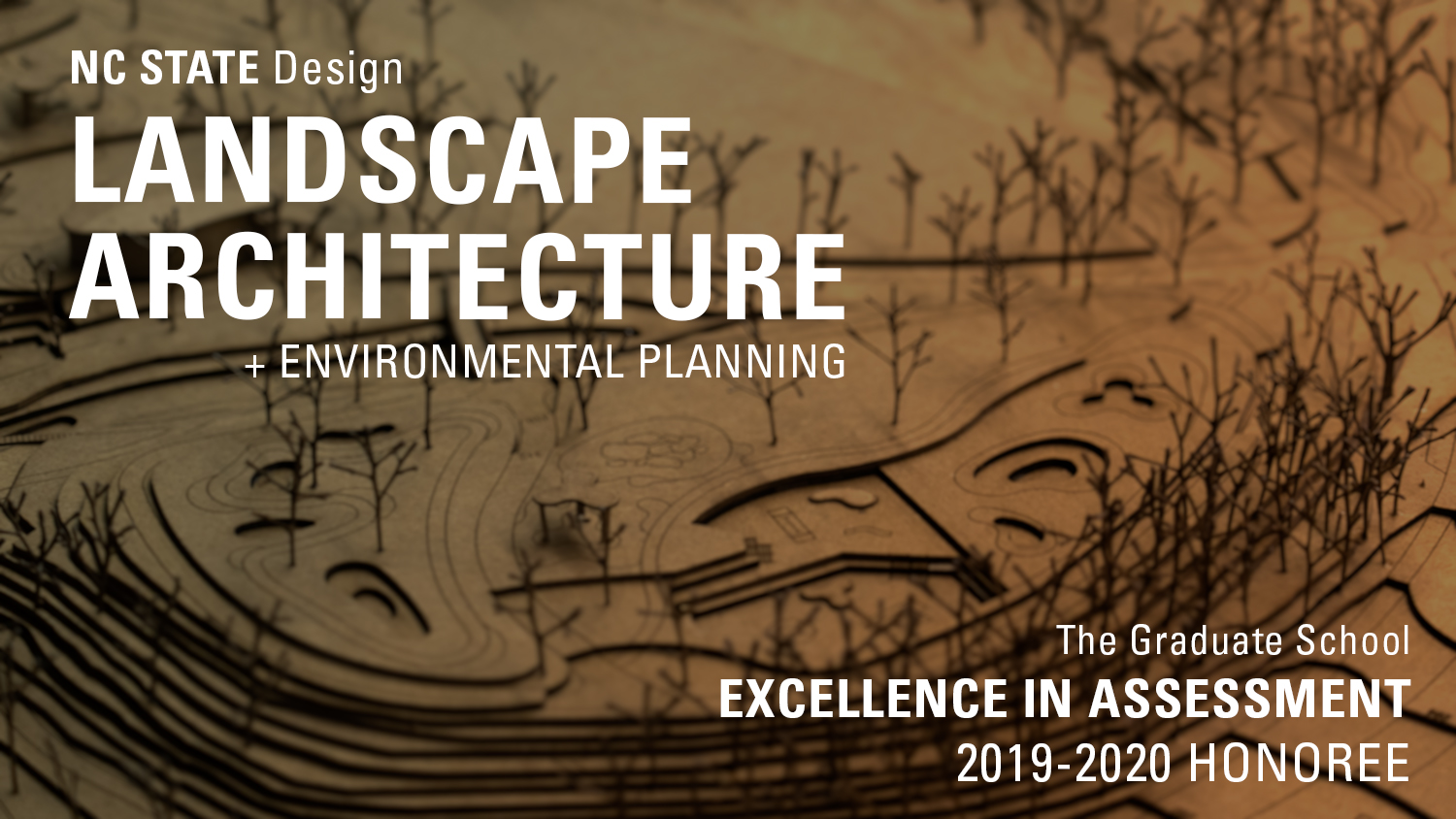 excellence in assessment award for landscape architecture