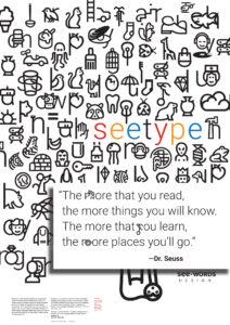 Renee Seward SeeType Poster demo