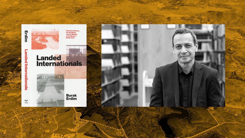 Burak Erdim with Book Cover