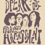 Raney Wilson - Speak Out Against Harassment Poster