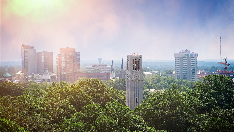 Raleigh Campus Skyline